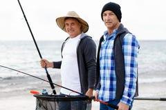 Photo de pêcheur Photographie stock libre de droits