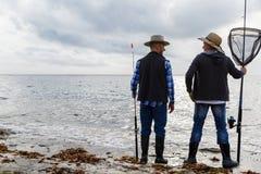 Photo de pêcheur Images libres de droits