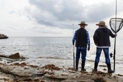 Photo de pêcheur Photos stock