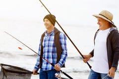 Photo de pêcheur Photos libres de droits
