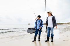 Photo de pêcheur Photo libre de droits