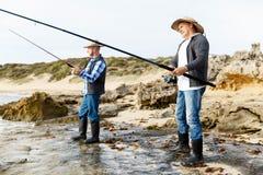 Photo de pêcheur Images stock