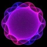 Photo de pendule de spirograph de fleur Image libre de droits