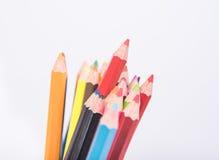 Photo de plan rapproché des crayons, crayon de couleur Photo libre de droits