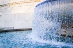 Photo de plan rapproché de fontaine de TREVI images stock