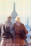 Photo de prise de touristes de New York City Photo libre de droits