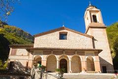 Photo de sanctuaire de dell'Ambro de Madonna Photo libre de droits