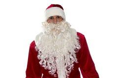 Photo de Santa Claus dans le costume rouge Photographie stock