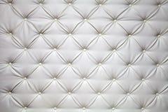 Photo de tapisserie d'ameublement de cuir véritable Image libre de droits