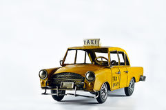 Photo de taxi Image stock