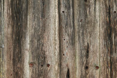 Photo de texture de bois superficiel par les agents rustique de grange Photographie stock
