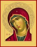 Photo de trame d'Oplechnaya de Vierge Photographie stock