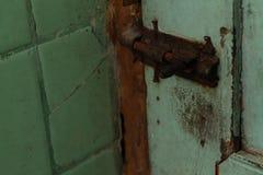 Photo de verrou, dans la salle de bains, version 2 images libres de droits