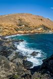 Photo de verticale de Punta Montana Amarilla Photographie stock