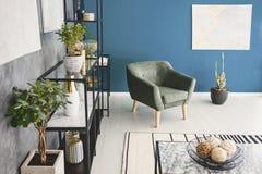 Photo de vue supérieure de fauteuil Photographie stock libre de droits