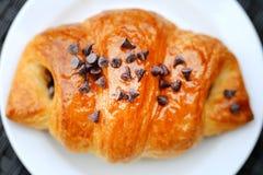 Photo of delicious fresh croissant Stock Image