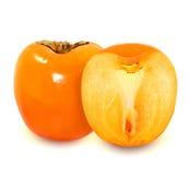 Photo delicious persimmon Royalty Free Stock Photo