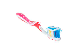 Photo of dental hygiene and health maintenance Royalty Free Stock Images