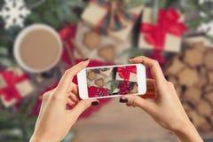 Photo des cadeaux Photo libre de droits