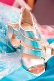 photo des chaussures de mariage photos libres de droits