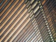 Photo des détails du vieux piano cassé pour le fond Photo libre de droits