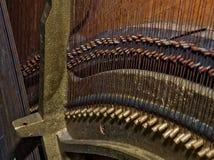 Photo des détails du vieux piano cassé pour le fond Photos libres de droits