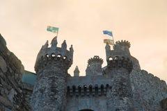 Ponferrada castle Royalty Free Stock Photos