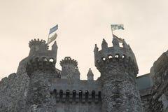 Ponferrada clastle Royalty Free Stock Image