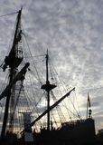 Pirate ship. Photo detail of vintage pirate ship Royalty Free Stock Photography