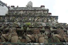 Photo detail of worship from Bangkok Royalty Free Stock Image
