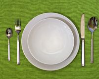 Photo of a Dinner Set Stock Photos