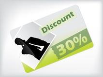 Photo discount gift card design Stock Photos