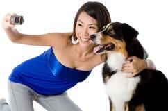 Photo With Dog Stock Photos