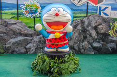 Photo of Doraemon mascot replica ,displayed at Central World Stock Photography