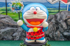 Photo of Doraemon mascot replica ,displayed at Central World, Stock Images