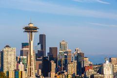 Photo of Downtown seattle from Kerry Park Seattle stock photography