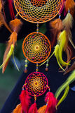 Photo of a dreamcatcher made by hand Stock Image