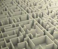 Photo du labyrinthe Image libre de droits