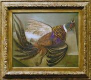 Photo du ` original de peinture le ` de faisan par Pablo Picasso Images stock