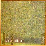 Photo du ` original de peinture le ` de parc par Gustav Klimt Photo stock