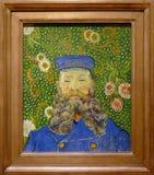 Photo du ` original de peinture les portraits du ` de Joseph Roulin par Vincent van Gogh Photo libre de droits