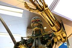 Photo du squelette de l'extr?mit? T-800 image libre de droits