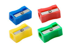 Photo du taille-crayons quatre Photographie stock