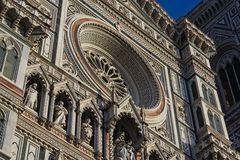 Photo of the Duomo di Firenze taken on a sunny morning. Stock Image