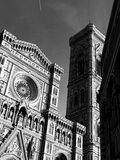 Photo of the Duomo di Firenze taken on a sunny morning. Royalty Free Stock Photography