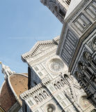 Photo of the Duomo di Firenze taken on a sunny morning. Royalty Free Stock Photos