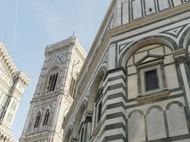 Photo of the Duomo di Firenze taken on a sunny morning. Royalty Free Stock Photo
