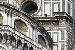 Photo of the Duomo di Firenze taken on a sunny morning. Stock Photography