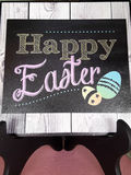 Photo of the Easter card Royalty Free Stock Photography
