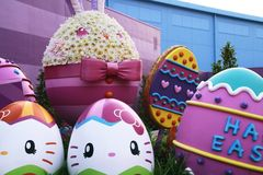 Photo of easter Universal Wonderland, Universal Studios JAPAN. OSAKA, JAPAN - March 11, 2014 : Photo of easter Universal Wonderland located in Universal Studios stock photo